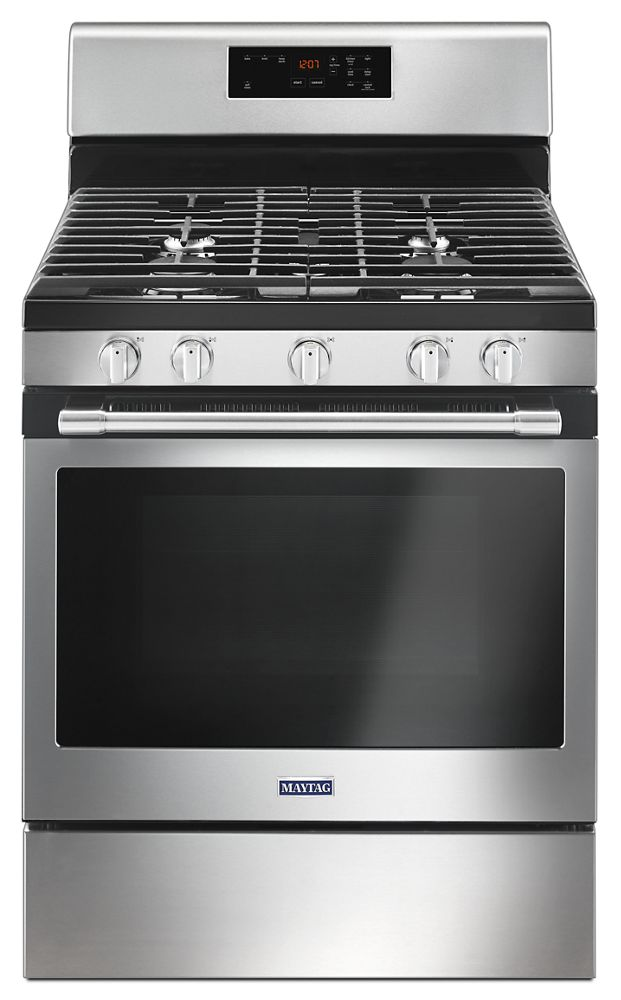 30-inch Wide Gas Range With 5th Oval Burner - 5.0 Cu. Ft.  Fingerprint Resistant Stainless Steel