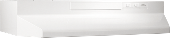 "24"" Convertible Range Hood, White-on-White"