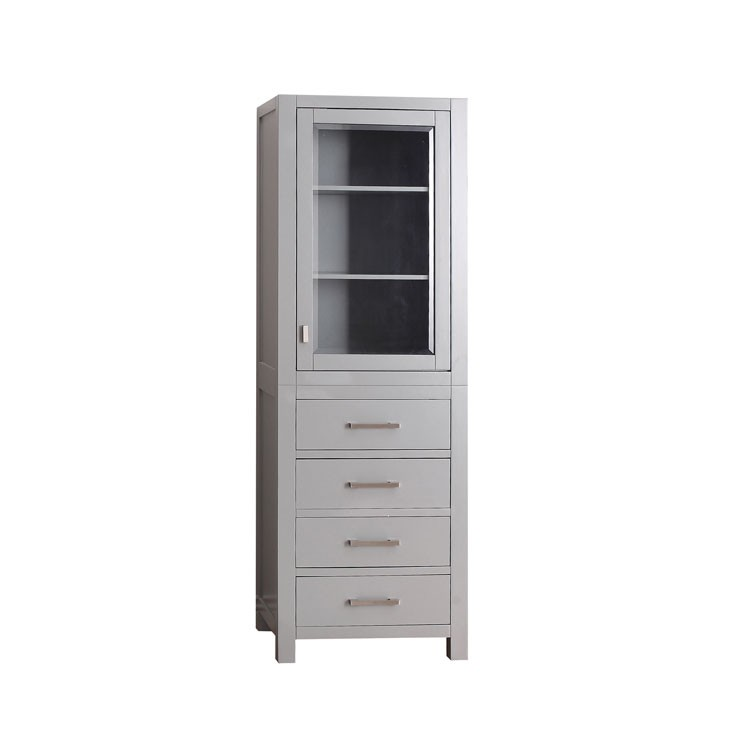 MODERO 24 in. Linen Tower
