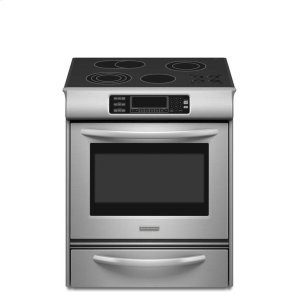 KESS908SPS&nbspKitchenaid&nbsp30-Inch 4-Element Electric Slide-In Range, Architect(R) Series II - Stainless Steel