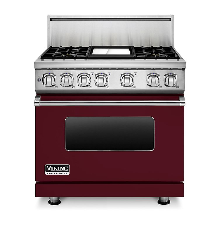 "36"" Dual Fuel Range, Natural Gas