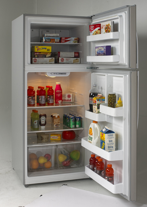 18.0 Cu. Ft. Frost Free Refrigerator  Stainless Steel