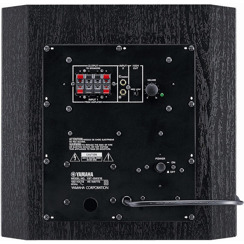 YST-SW216 BlackPowered Subwoofer