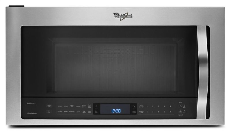 Amana 2 0 cu ft over the range microwave in white with sensor - Wmh76719cs In Stainless Steel By Whirlpool In Sunray Tx