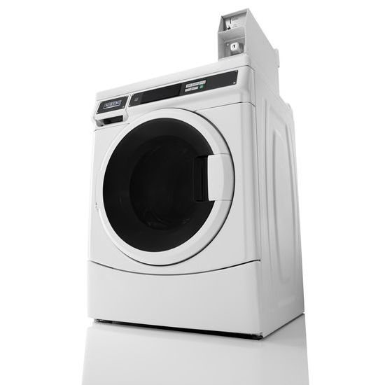 Commercial Single Load, Energy Advantage (TM) Front-Load Washer  White