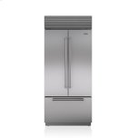 Sub ZeroSub Zero 36&quot Classic French Door Refrigerator/Freezer with Internal Dispenser