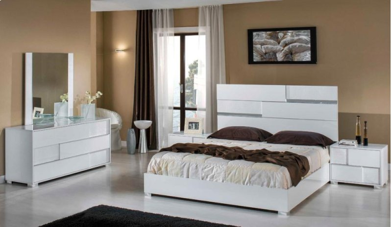 hidden additional modrest ancona italian modern white bedroom set - Italian Modern Furniture Brands