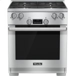 30 inch range All Gas with DirectSelect, Twin convection fans and M Pro dual stacked burners