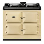 """Dual Control 39"""" Electric Cream with Stainless Steel trim"""
