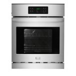 FrigidaireFrigidaire 24&quot - 3.3 Cu. Ft. Self-Clean Single Electric Wall Oven