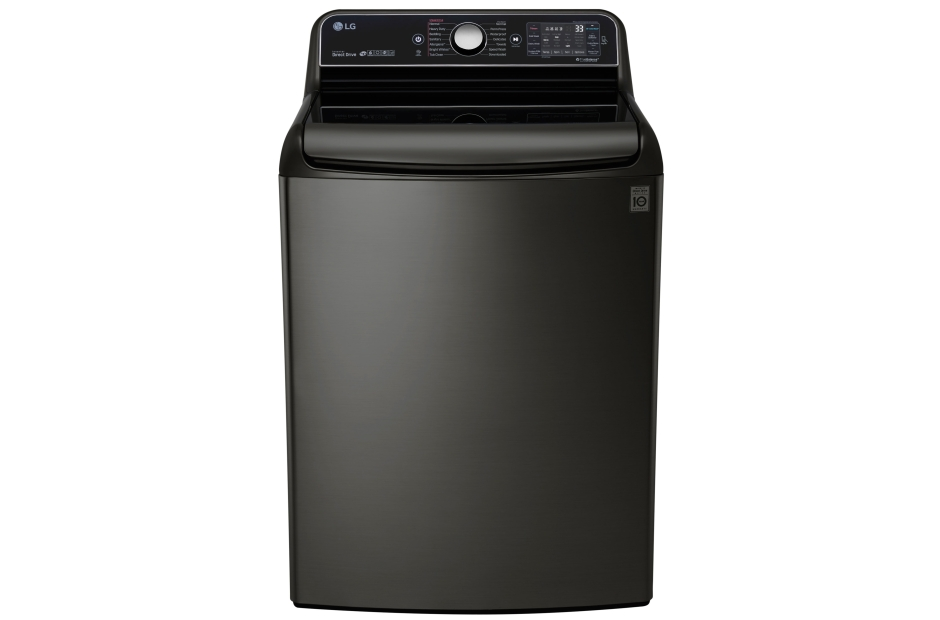 5.7 cu.ft. Mega Capacity Top Load Washer with TurboWash(R) Technology  Black Stainless Steel