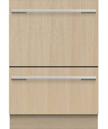 Tall Double DishDrawer Dishwasher, 14 Place Settings, Panel Ready
