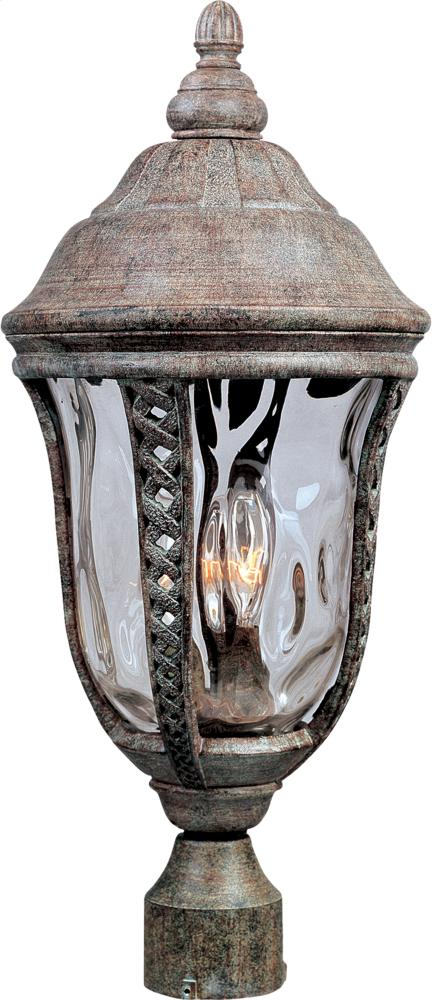 Whittier Cast 3-Light Outdoor Pole/Post Lantern