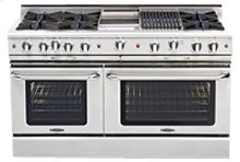 """Culinarian 60"""" Gas Self Clean Range"""
