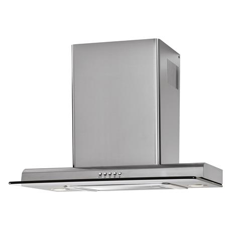 "24"" Chimney Vent Stainless Steel with Tempered Glass"