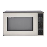 SharpSharp Carousel Countertop Convection + Microwave Oven 1.5 cu. ft. 900W Stainless Steel