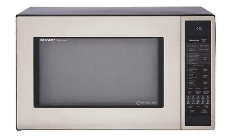 Sharp Carousel Countertop Convection + Microwave Oven 1.5 cu. ft. 900W ...