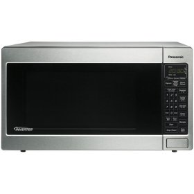 Countertop Built In Microwave Oven with Inverter Technology Stainless