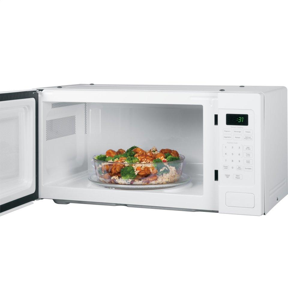 PEM31DFWW GE Profile (TM) Series 1.1 Cu. Ft. Countertop Microwave Oven