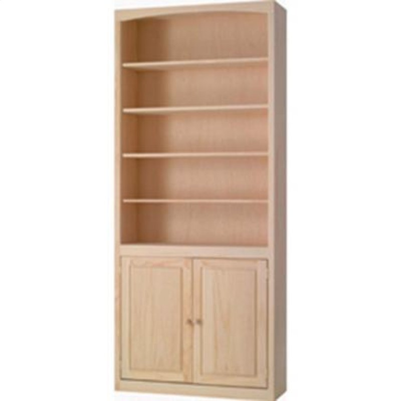 Arc3684du In By Archbold Furniture In Hampton Va Pine 36 Inch Bookcase With Doors