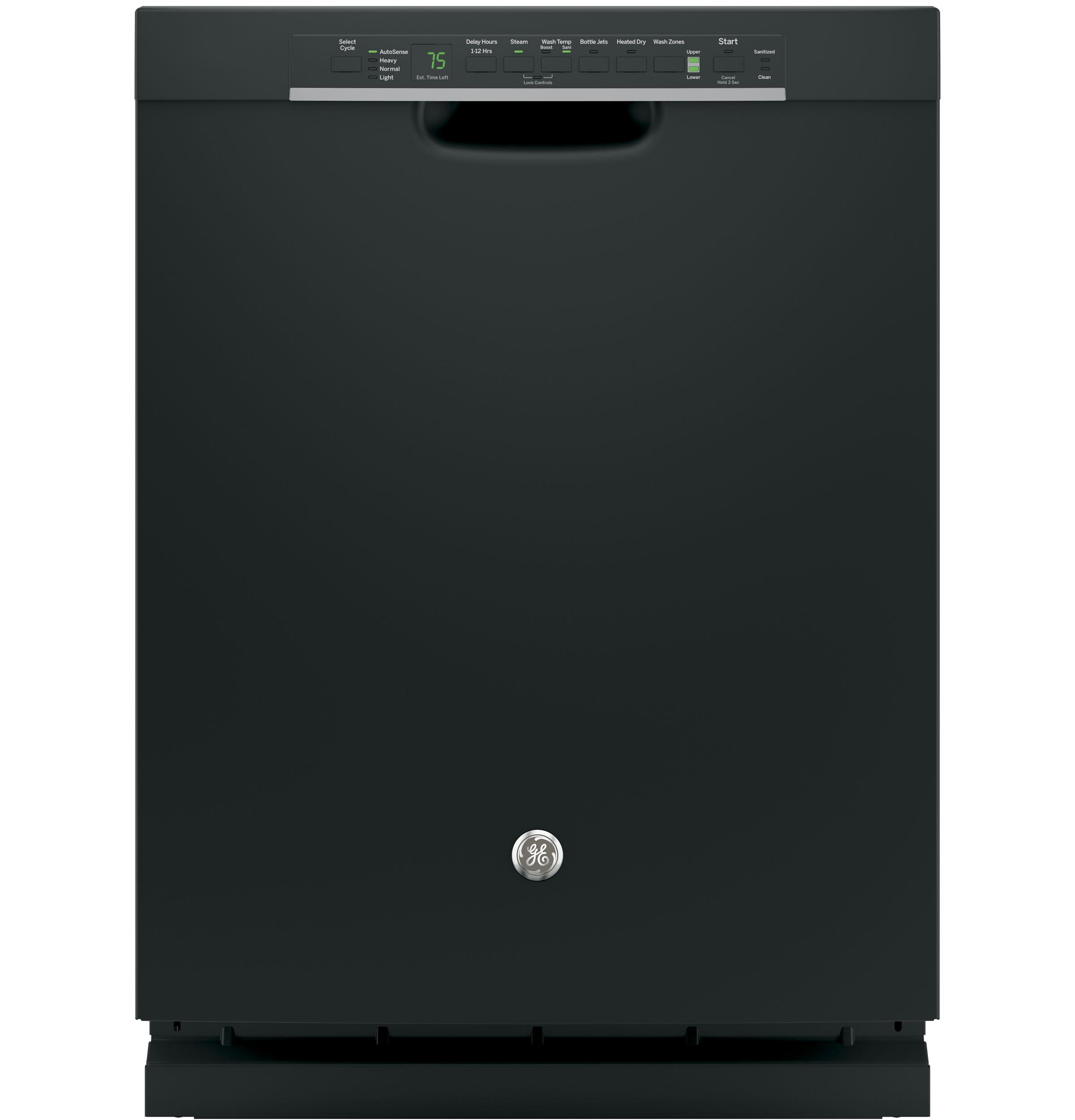 GE(R) Stainless Steel Interior Dishwasher with Front Controls