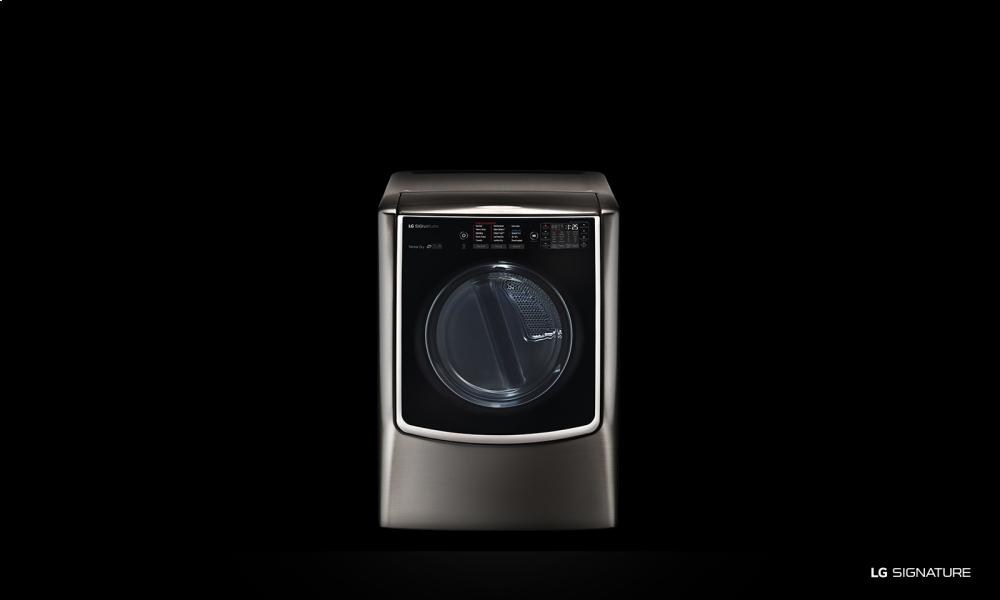 LG SIGNATURE 9.0 Mega Capacity TurboSteam Gas Dryer