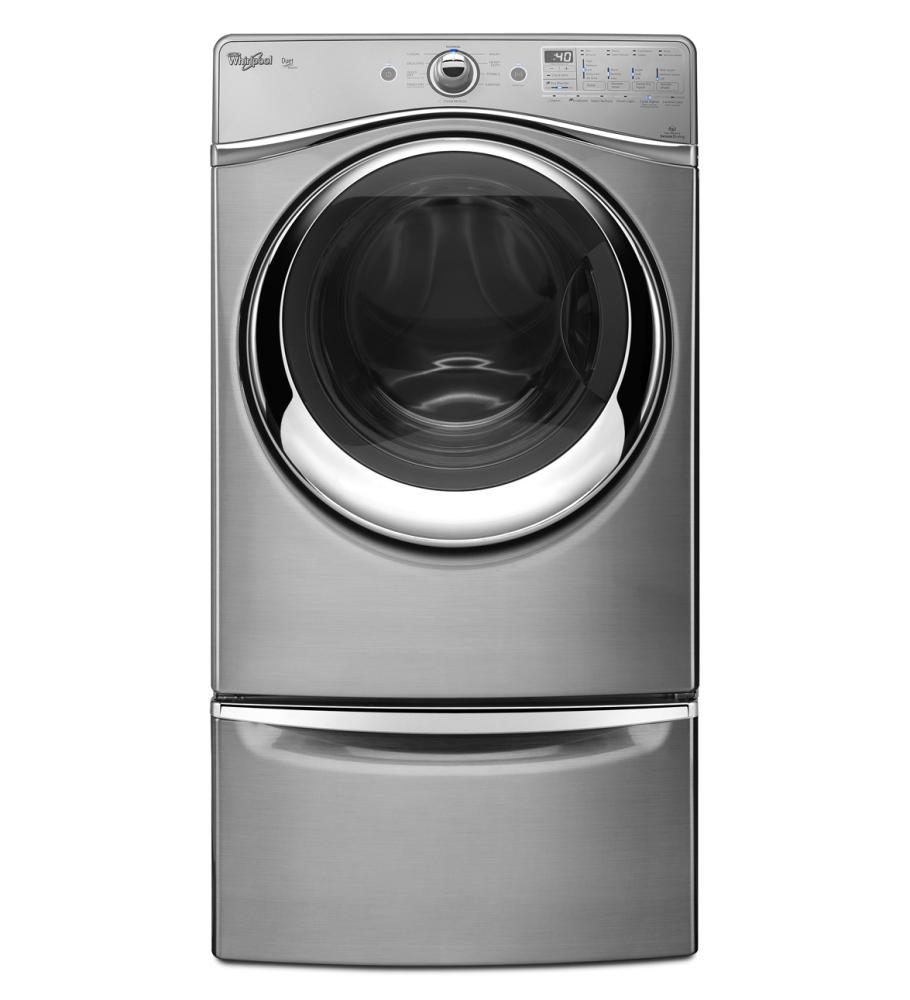 xhpc155yc whirlpool 15 5 laundry pedestal with chrome. Black Bedroom Furniture Sets. Home Design Ideas