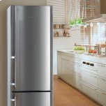 Liebherr24'' Freestanding Bottom Freezer Refrigerator, 13.0 Cu. Ft. Capacity, NoFrost - Stainless Steel, Right Hinge
