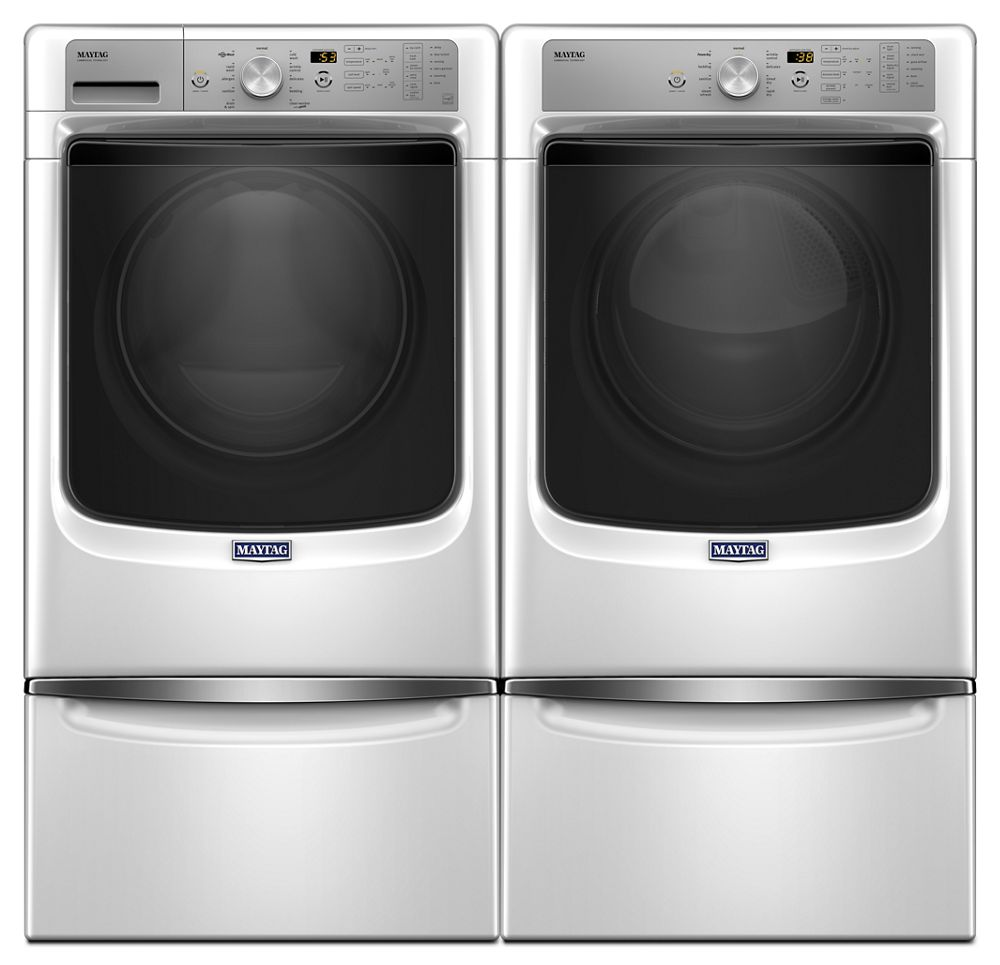 Maytag Large Capacity Dryer With Sanitize Cycle And