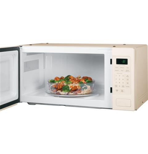 Countertop Microwave In Bisque Color : PEM31DFCC GE Profile (TM) Series 1.1 Cu. Ft. Countertop Microwave Oven