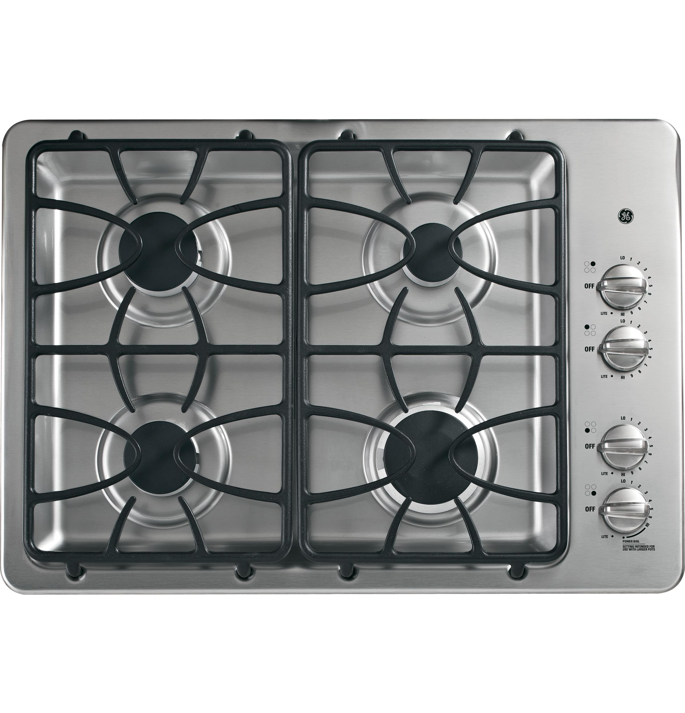 "GE(R) 30"" Built-In Gas Cooktop