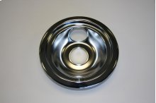 "6"" Burner Drip Bowl, Chrome"