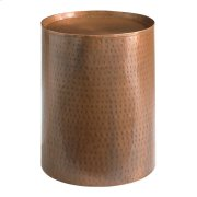 Accents Round Antique Copper Pedestal Product Image