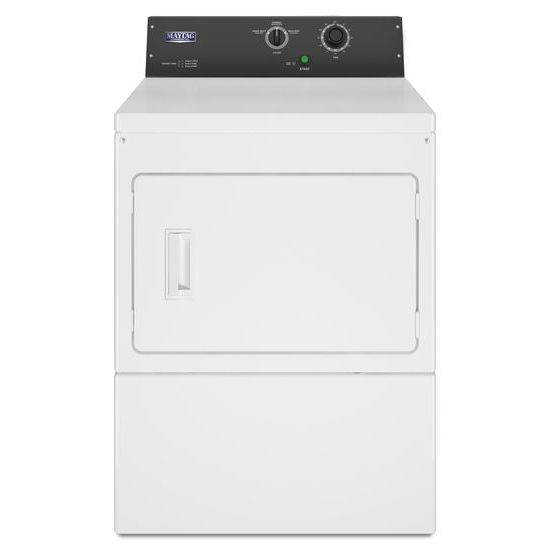 Commercial Electric Super-Capacity Dryer, Non-Coin  White