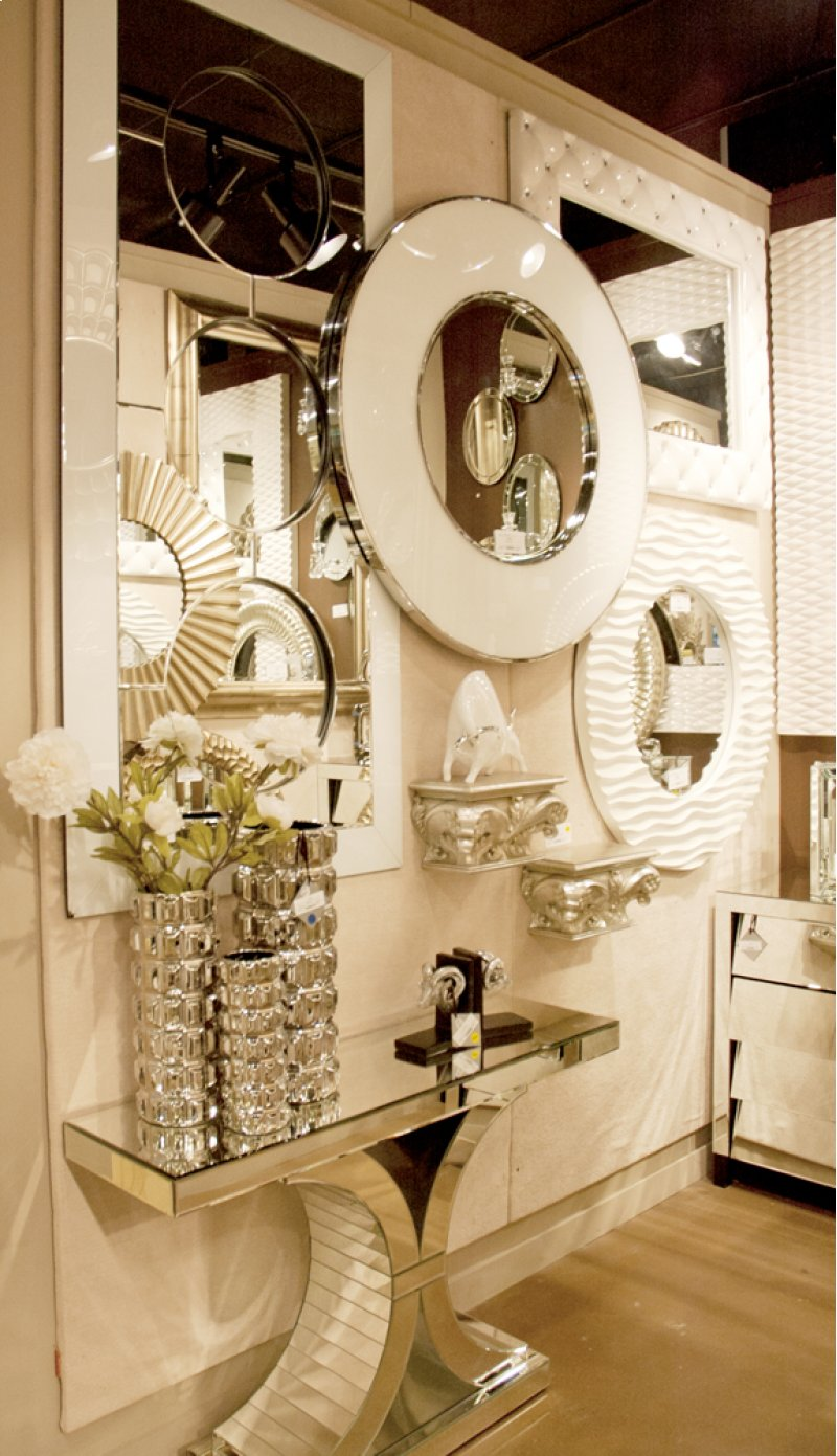 11137 in by howard elliott in oxnard ca mirrored console table hidden additional mirrored console table w arch accents geotapseo Image collections