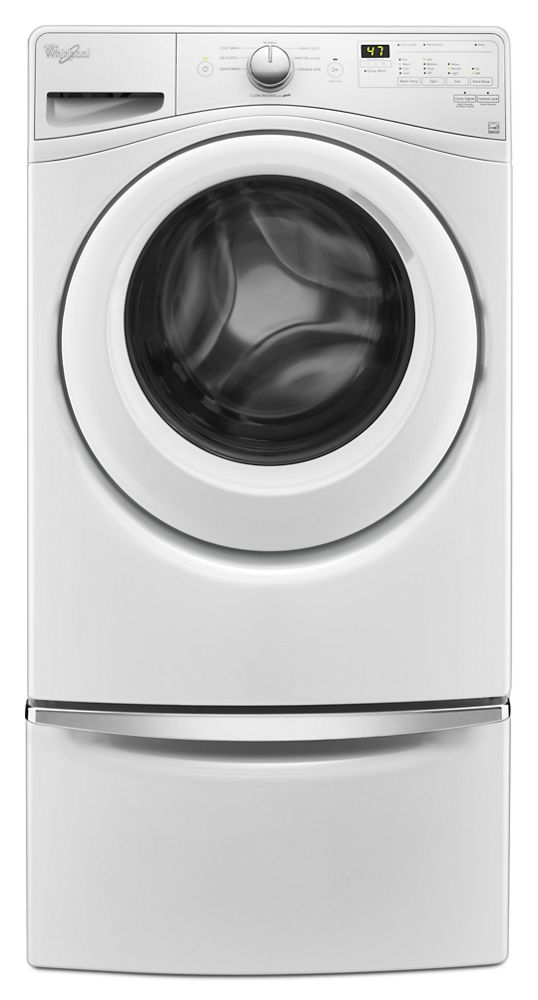 4.2 cu. ft. Front Load Washer with Closet-Depth Fit  White