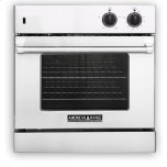 American RangeAmerican Range 30&quot Legacy single chef door gas Innovection Wall Oven with infrared broiler Natural Gas