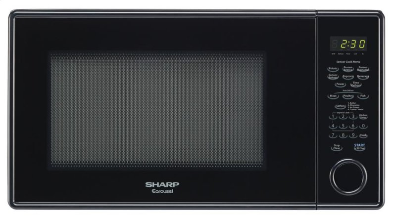 ... AZ - Sharp Carousel Countertop Microwave Oven 1.3 cu. ft. 1000W Black