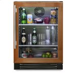 True ManufacturingTrue Manufacturing 24 Inch Overlay Glass Door Undercounter Refrigerator - Left Hinge Overlay Glass