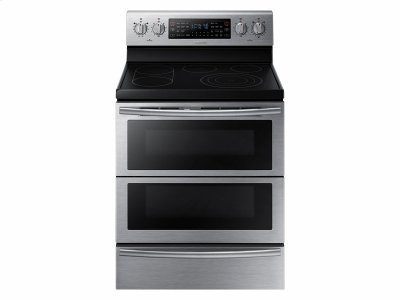 5.9 cu. ft. Electric Flex Duo® Range with Soft Close and Dual Door Product Image