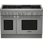 Thermador48 inch Professional Series Pro Harmony Standard Depth All Gas Range PRG486GDH