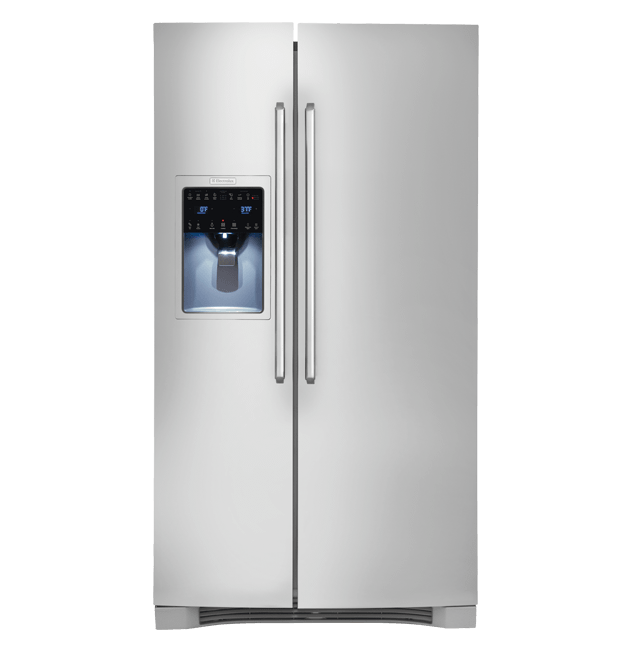 Standard-Depth Side-By-Side Refrigerator with IQ-Touch(TM) Controls  Stainless Steel