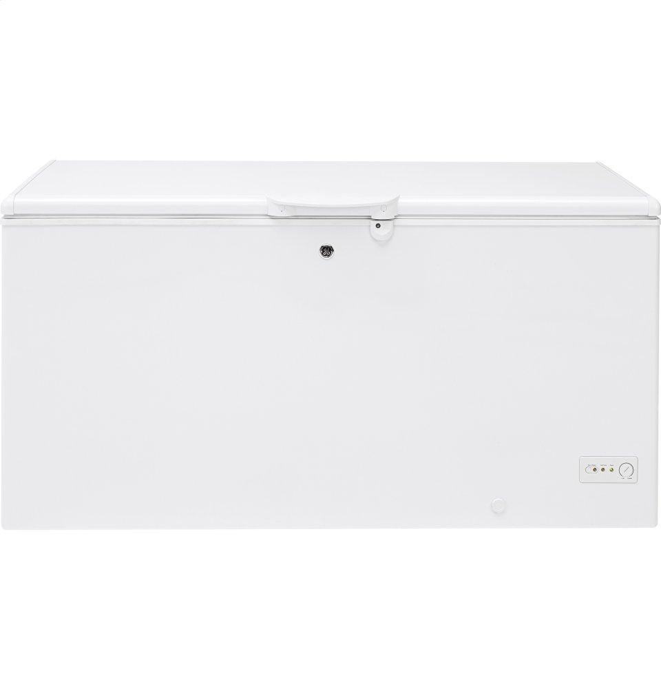 GE(R) 15.7 Cu. Ft. Manual Defrost Chest Freezer