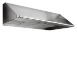 "DacorRenaissance 48"" wide, 18"" high, and 26 7/8"" deep Epicure wall-mounted hood."