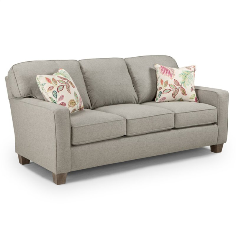 Best home furnishings in wichita ks annabel coll2 stationary sofa