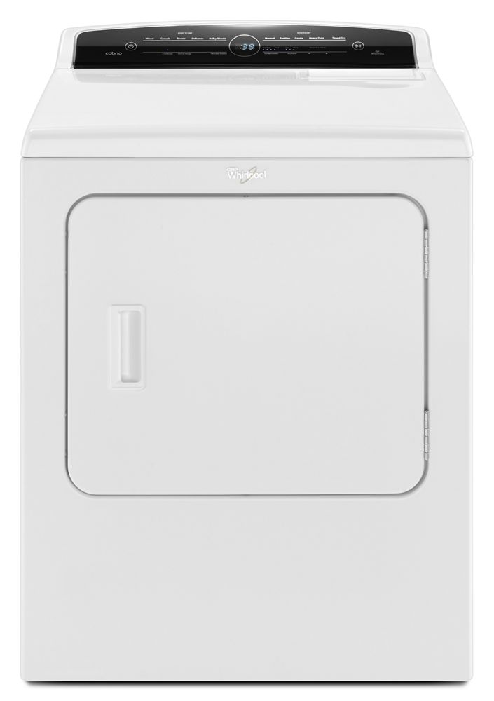 7.0 Cu. Ft. Front Load Electric Dryer with AccuDry Sensor Drying