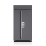 Sub ZeroSub Zero 42&quot Classic Side-by-Side Refrigerator/Freezer with Dispenser - Panel Ready