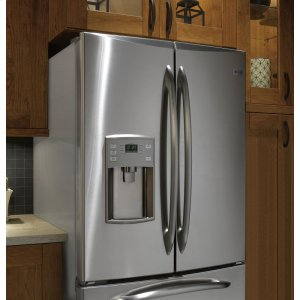 PFSS2MJYSS&nbspGE Profile&nbsp Series ENERGY STAR(R) 22.0 Cu. Ft. Refrigerator with External Dispenser