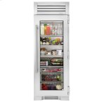 True ManufacturingTrue Manufacturing 30 Inch Stainless Glass Refrigerator Column - Left Hinge Stainless Glass