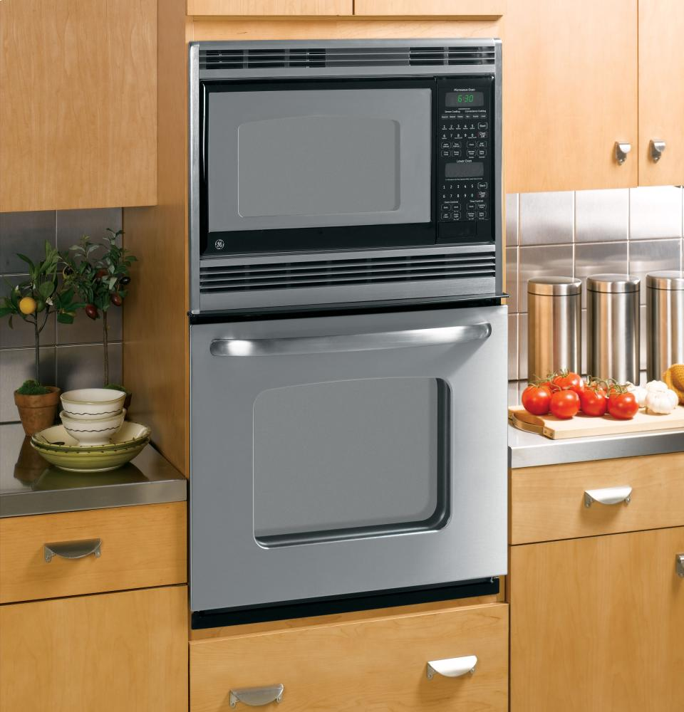 Built In Microwave Combination Double Wall Oven